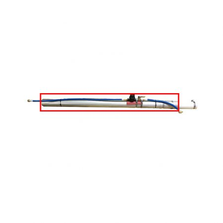 """42"""" pole w/ collar & clamps Hydra-Cone"""