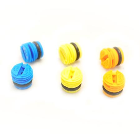 Tips - Orange, Yellow, & Blue Spray Tips - Hydra-Cone